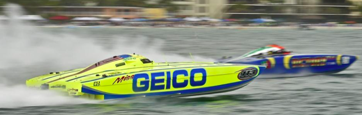 SARASOTA POWERBOAT GRAND PRIX: Victory Team, Miss Geico wipe out in Class One race